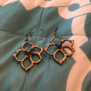 Lucky Brand flower earrings